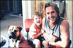 dog, Angus Jones, and David Arquette dare you to guess which of them