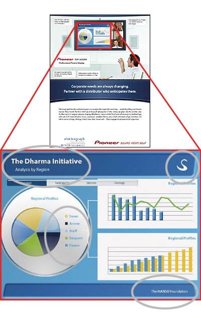 Dharma Initiative in Pioneer Ad